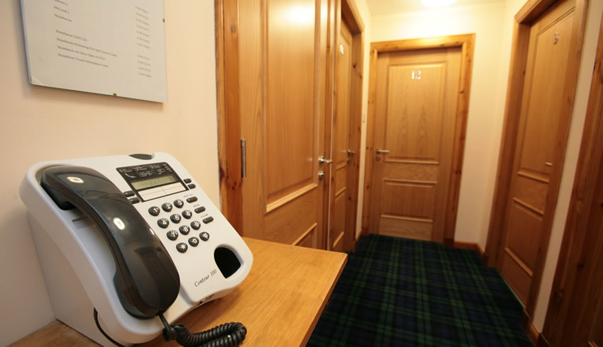 Telephone outside Hotel Rooms